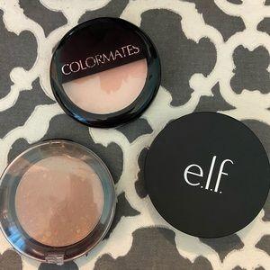 3 Concealing powders Elf Colormates